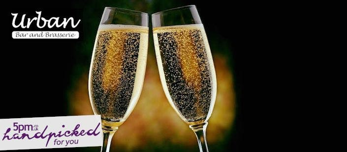 £39 for a 3 Course 10th Anniversary Menu + Fizz for 2