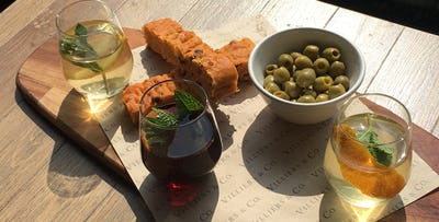 £15 for a Litre of Sangria to Share with Focaccia, Olives & Oil for 2