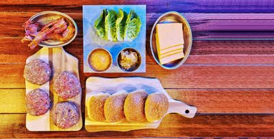 £29 for an Exclusive At-Home Burger Kit for 2 for Delivery