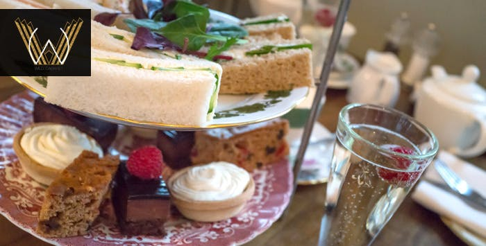 Afternoon Tea + Glass of Fizz for 2 or 4 People, from £15