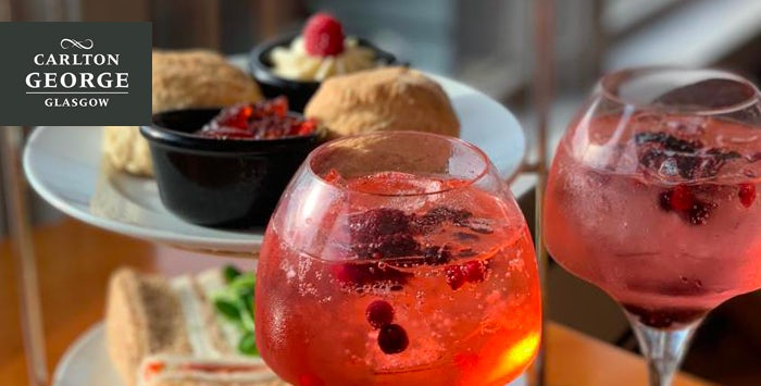 £22.50 for Afternoon Tea with Pink Gin for 2