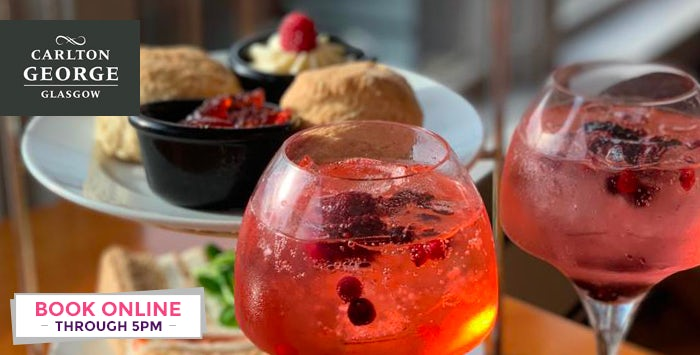 £24 for Afternoon Tea with Pink Gin for 2