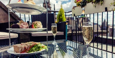 £21 for Afternoon Tea with Pink Fizz for 2