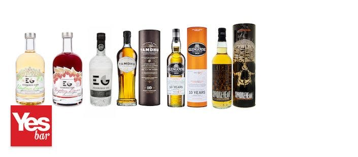 £25 for a Whisky or Gin Flight Each with Antipasti Selection for 2