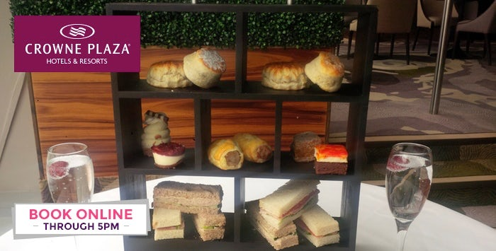 £21 for Afternoon Tea with Prosecco for 2