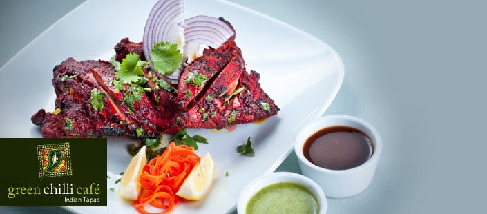 £18 for a 3 Course Indian A La Carte Meal for 2