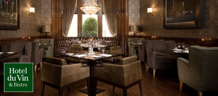 £39.50 for a 4 Course Champagne Lunch for 2