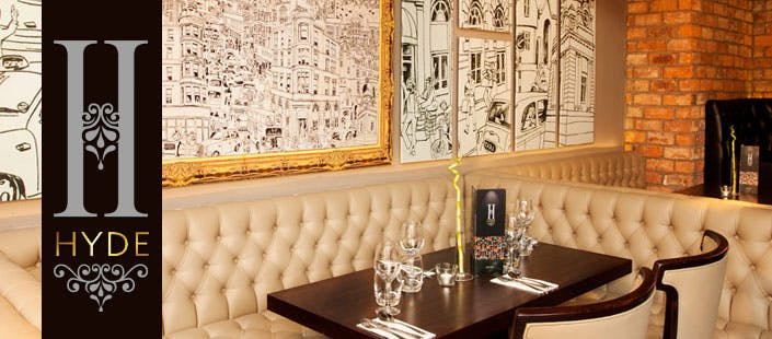 £19 for a 2 Course Meal + Drink for 2