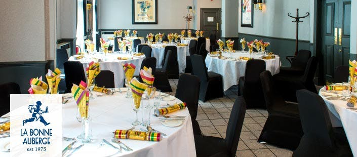 £20 for a Christmas Party Night with 3 Course Dinner on Saturday 28th November