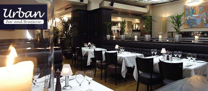 £25 for a 2 Course Meal from Deluxe Big Deal Menu + Glass of Bubbly for 2