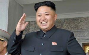 Kim Jonh Un. A man who looks like he likes a good meal.