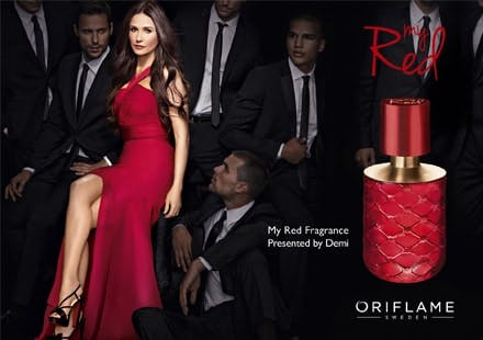 Oriflame My Red Demi Moore