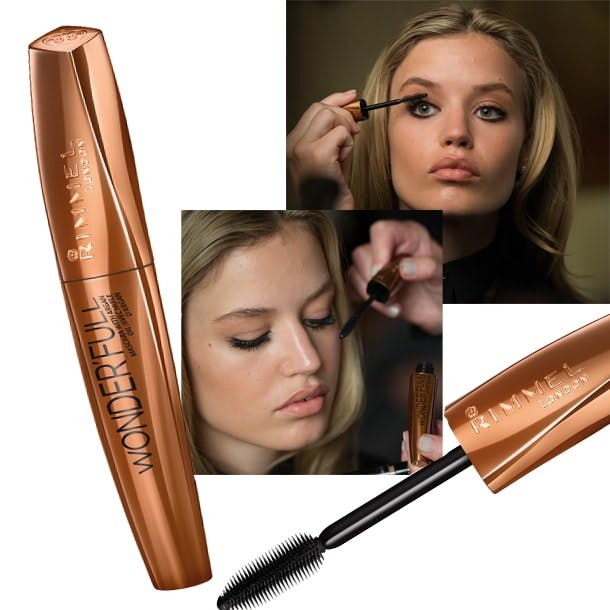new rimmel wonder'full mascara