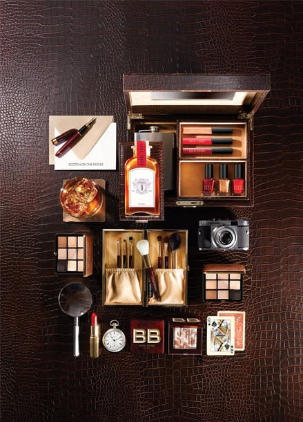 Bobbi Brown scotch on the rocks styling