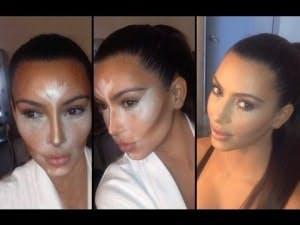 kimkardashian contour