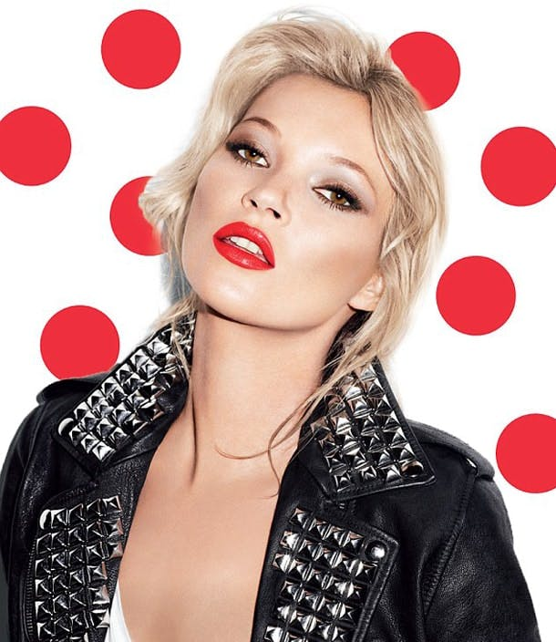 kate moss rimmel comic relief 2015