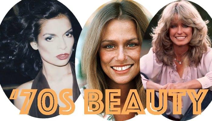 Bianca Jagger, Lauren Hutton and Farrah Fawcett