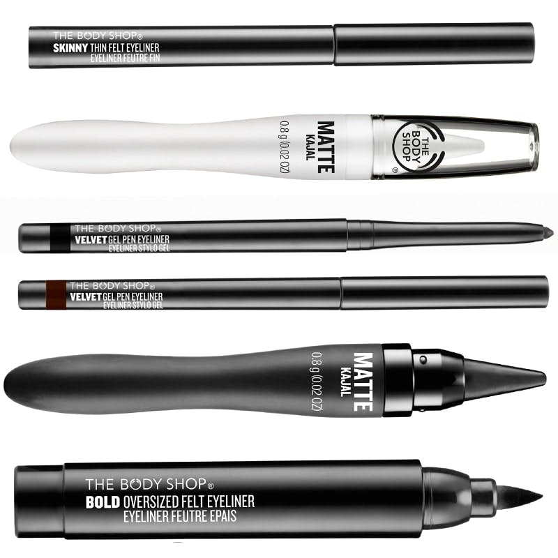Body Shop new eyeliners