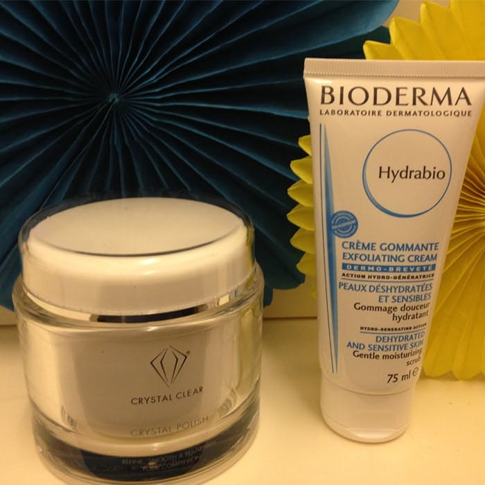 Crystal Clear and Bioderma Exfoliation