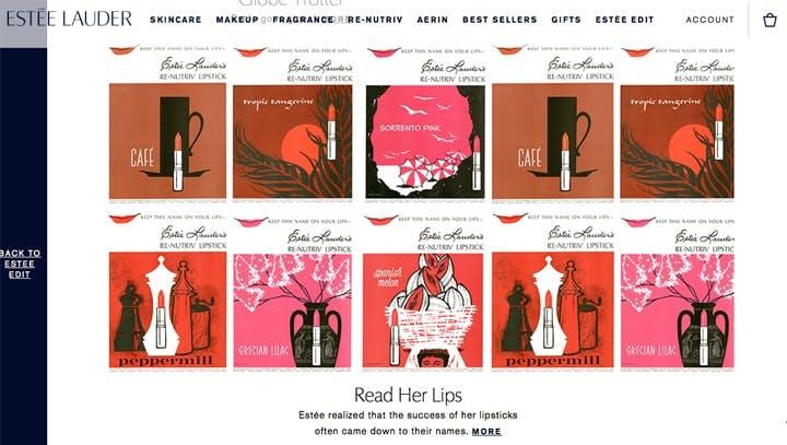 Estee lauder Edit Lipstick Story