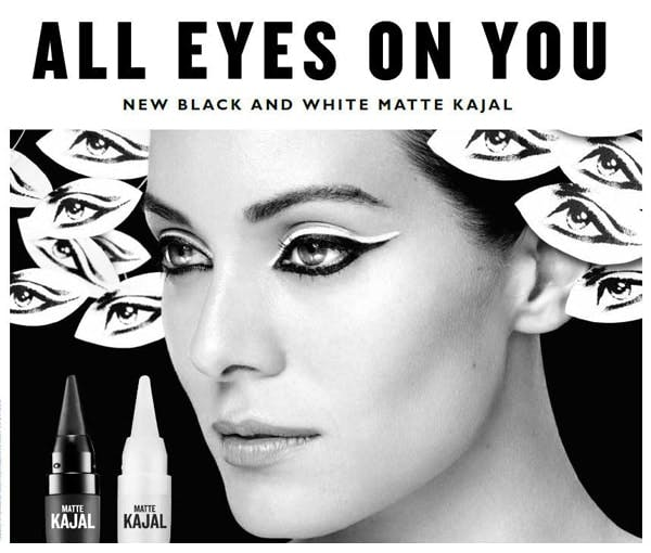 The Body Shop Black and White Kajal