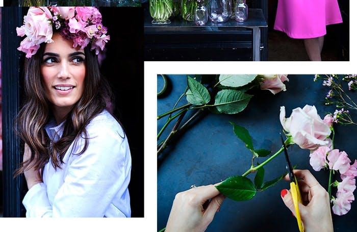 Estee Edit Floral Crown Tutorial