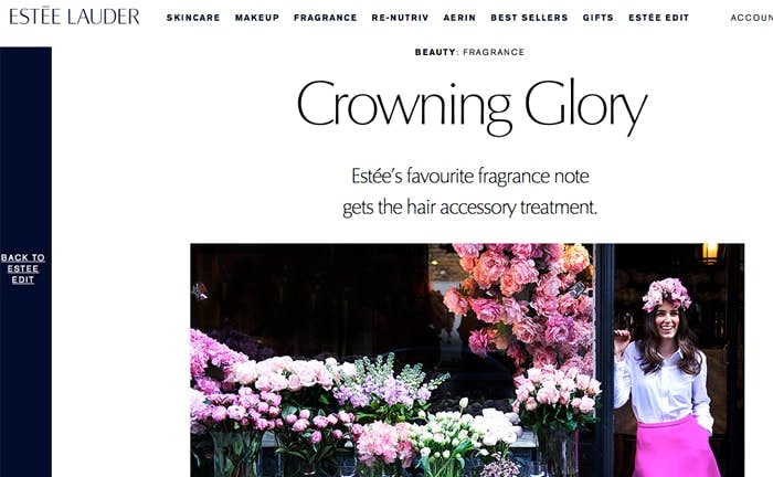 The Estee Edit Crowning Glory