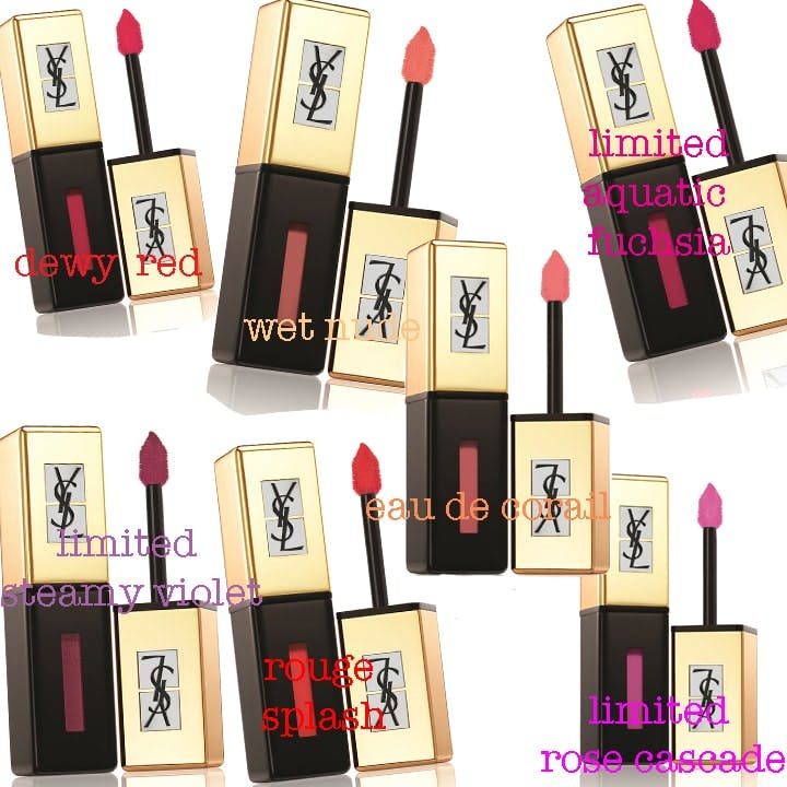 YSL Pop Water Rouge Pur Couture