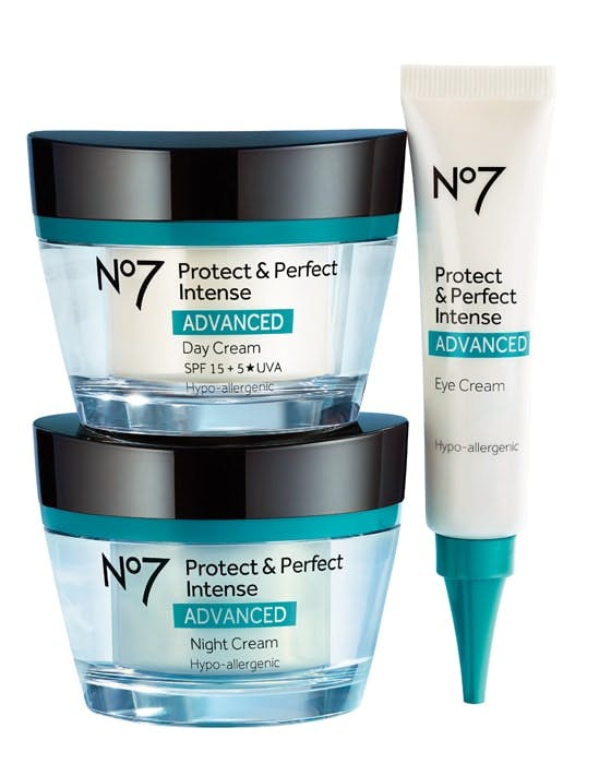 No7 Protect & Perfect Intense ADVANCED Skincare range