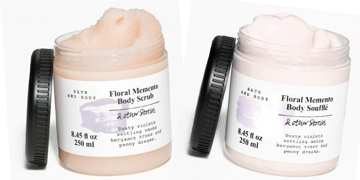 & Other Stories Floral Memento Scrub and Souffle