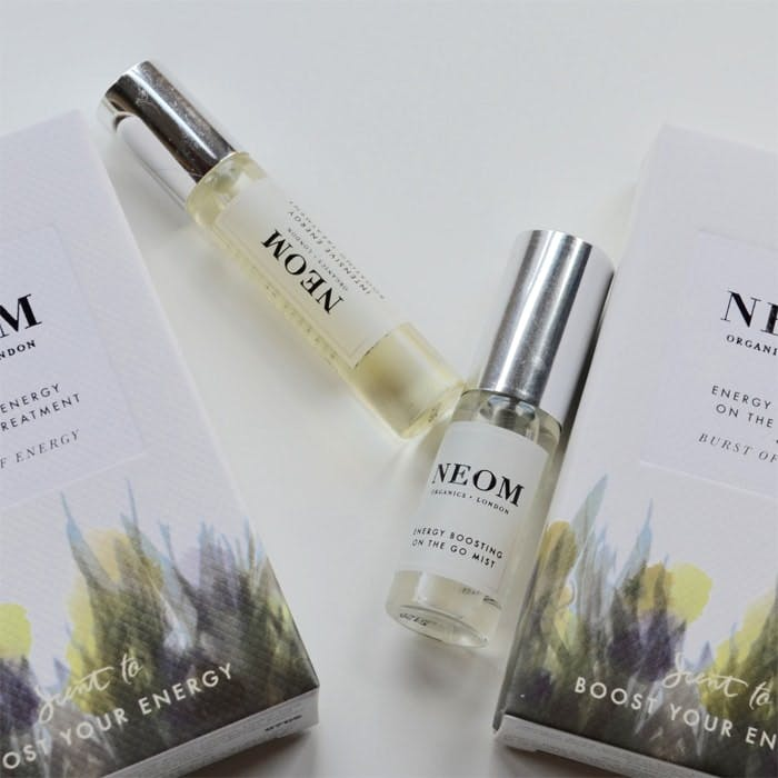 Neom Energy Boosting On The Go Mist & Intensive Energy Boosting Treatment