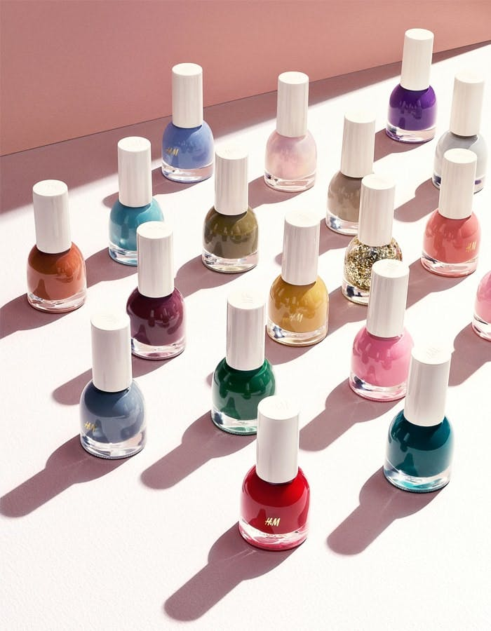 H&M New Beauty Line Nail Polishes