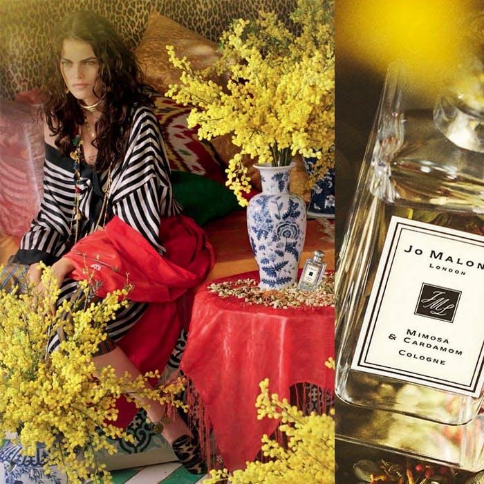 Jo Malone Mimosa and Cardamom Campaign