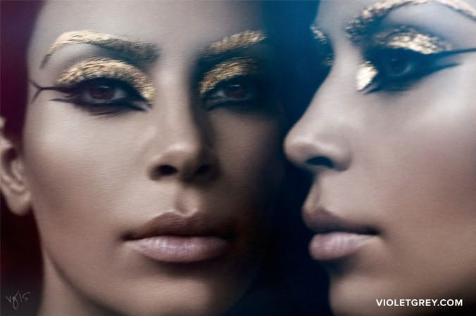 Kim Kardashian West for Violet Files