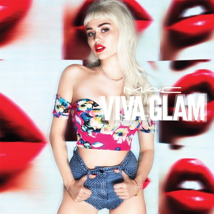 Miley Cyrus for Viva Glam