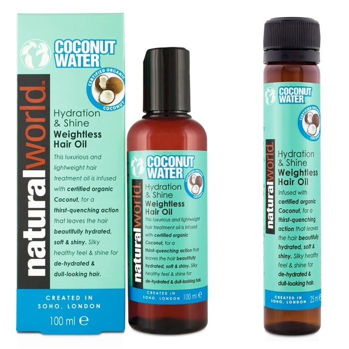 Natural World Coconut Water Weightless Hair Oil