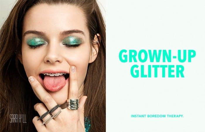 Sara Hill Grown Up Glitter
