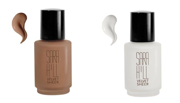 Sara Hill Velvet Sheer Foundation - Espresso and White