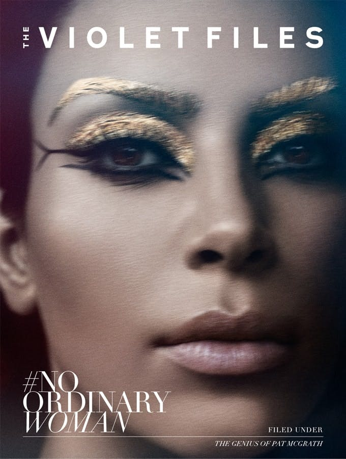 Violet Grey Kim Kardashian West cover