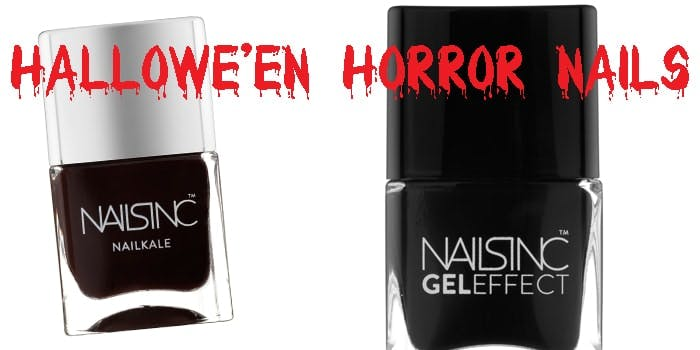 Halloween Horror Nail Colours