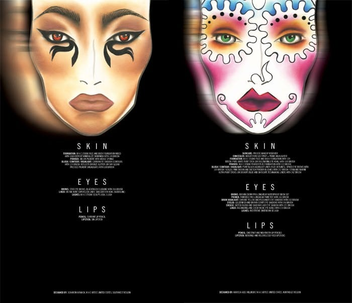 MAC Halloween Egyptian Goddess and Day of Dead products