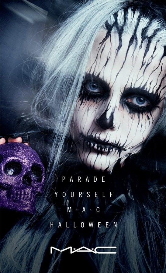 MAC cosmetics Zombie Halloween