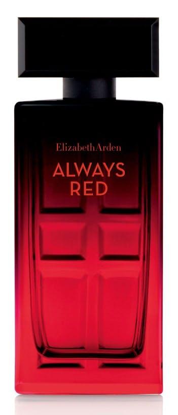 Elizabeth Arden Always Red Charity bottle