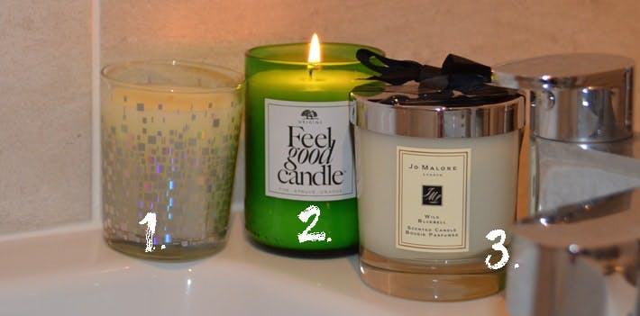 Winter Candles Space NK, Origins and Jo Malone