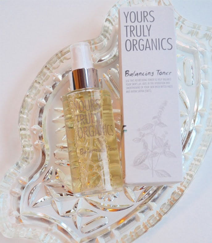 Yours Truly Organic toner
