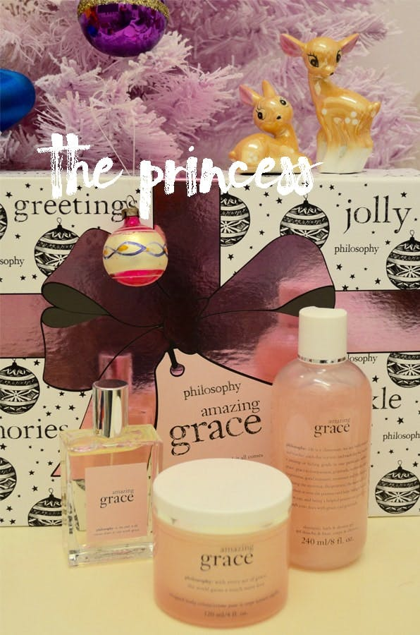 Christmas Philosophy gift set for a Princess