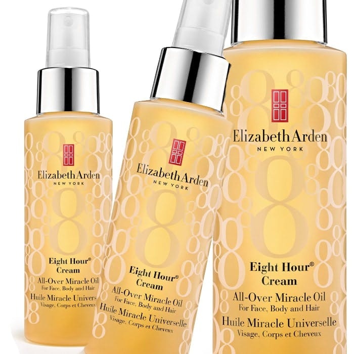 Elizabeth Arden's NEW Eight Hour Cream All Over Miracle Oil