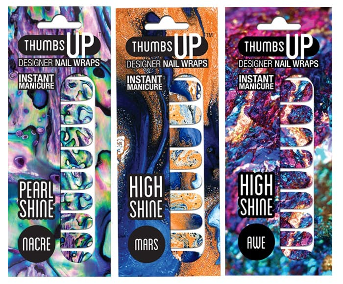 Galactic Nail Wraps from Thumbs Up!