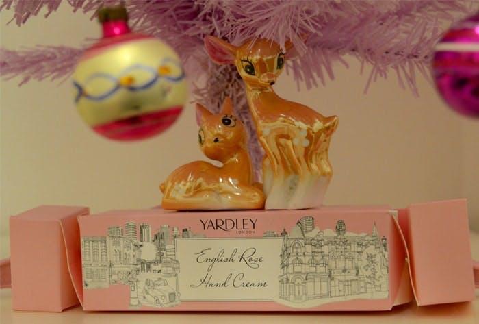 Yardley Hand Cream Christmas Cracker
