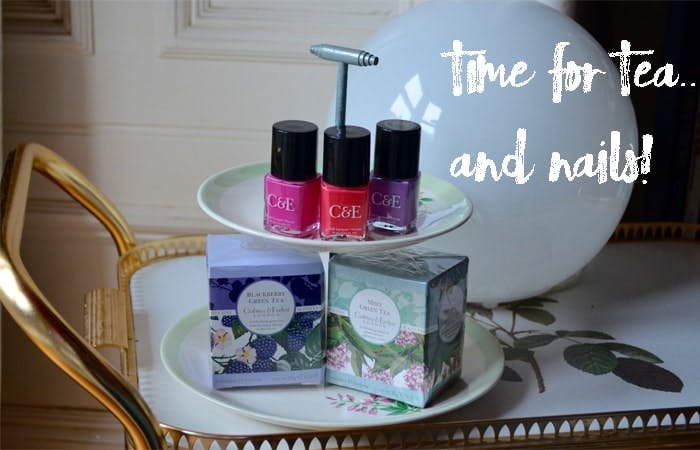 Crabtree & Evelyn - Tea and Nails!